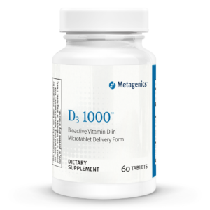 Metagenics Vitamin D3 1000IU