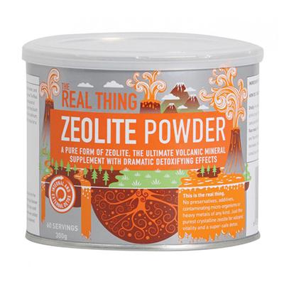 zeolite - detoxifying powder