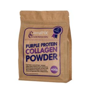 purple protein collagen powder