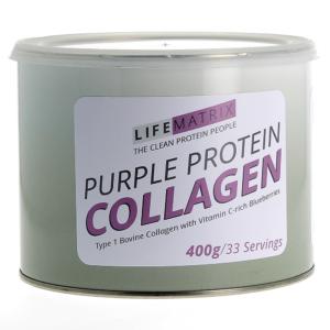 purple collagen powder lifematrix