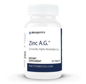 Zinc AG 30 metagenics healthy life cape town